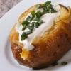 Krompiri punjeni kajmakom