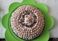 Torta sa borovnicama, mljevenom plazmom
