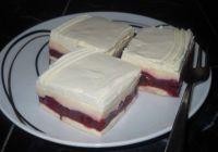 Laganini kolač sa višnjama