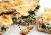 Brzi quiche bez kore sa gljivama, sirom i špinatom