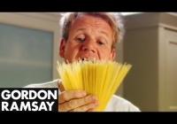 Gordon Ramsay otkriva tajnu savršeno kuhane tjestenine