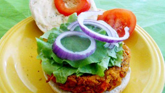 hamburger od slanutka